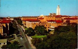 Texas Austin University Of Texas Seen From Stadium 1976 - Austin