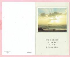 Bidprentje - Dymphna CAERS Wed. Jef MOLS - Geel 1905 - 1988 - Images Religieuses