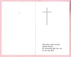 Bidprentje - Josephina CAERS Echtg. Jan Van Lommel - Geel 1916 - 1979 - Images Religieuses