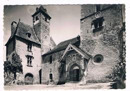 BEOST  64  L' église Et Le Chateau En 1968 - Autres Communes