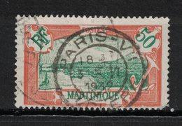 Martinique - Yvert 101 Oblitéré PARIS VII - Scott#86 - Oblitérés