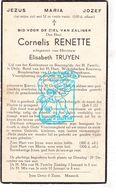 DP Cornelis Renette ° Kinrooi 1868 † 1936 X Elisabeth Truyen - Images Religieuses