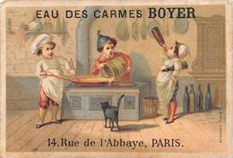 PIE-RO-4422 : EAU DES CARMES BOYER. 14 RUE DE L'ABBAYE PARIS - Zonder Classificatie