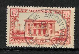 Martinique - Yvert 154 Oblitéré TOULOUSE GARE - Scott#172 - Oblitérés