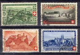 """SUISSE  ! SÉRIE De Timbres Anciens De 1944 """"FÊTE NATIONALE"""" - Switzerland"""