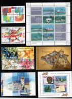 Lot Blöcke Gestempelt Mi 23 26 31 41 42 Und Viererblöcke Siehe Scan - Blocks & Kleinbögen