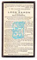 DP Leon Ramon 38j. ° Passendale Zonnebeke 1900 † Voormezele Ieper 1939 X Maria Garreyn - Images Religieuses
