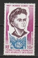 Afars Et Issas Poste Aérienne N° 101 ** Marie Curie - Afar- Und Issa-Territorium (1967-1977)