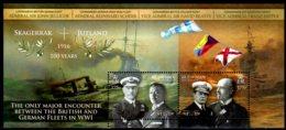 2016 Isle Of Man World WAR I 100 Years Of Battle Of Jutland Navy MNH**MI B 110 Ships, Millitary, Admirals - WW1