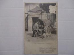 RARE CPA CP NORMANDIE SCÈNES NORMANDES LE RÉMOULEUR 1905 VIEUX MÉTIERS COL. A. RENARD PONT AUDEMER  BON ETAT GÉNÉRAL - Haute-Normandie