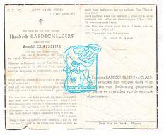 DP Elisabeth Raedschelders ° Maaseik 1861 † Heppeneert 1949 X Arnold Claessens - Images Religieuses