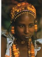 Mali Jeune Femme Peulh Djenne Parrure Et Bijoux - Mali