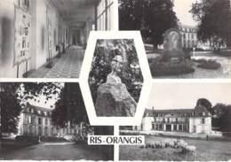 91 - RIS ORANGIS : Multivues CPSM Dentelée Noir Et Blanc GF - Essonne - Ris Orangis
