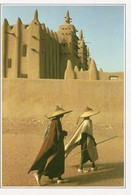 Djenné Animée La Mosquée D'Argile - Mali