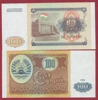 Tadjikistan  100 Rubles 1994 (UNC-NEUF) --(23) - Tadzjikistan