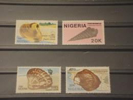 NIGERIA - 1987 CONCHIGLIE 4 VALORI - NUOVI(++) - Nigeria (1961-...)