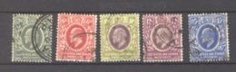 Afrique Orientale Britannique  & Ouganda  :  Yv  125-29  (o) - Protectorados De África Oriental Y Uganda