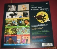 BLOK 192 Kuifje Op Het Scherm** 4165/74** Ongetand + Ongenummerd -Tintin à L'écran (Non-Dentelée) + Imperforated - Belgium