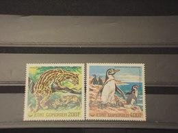 COMORES - P.A. 1977 FAUNA 2 VALORI - NUOVI(++) - Isole Comore (1975-...)