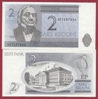 Estonie  2 Krooni  1992  (UNC-NEUF) --(42) - Estonia