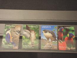 VANUATU - 1999 UCCELLI 4 VALORI - NUOVI(++) - Vanuatu (1980-...)