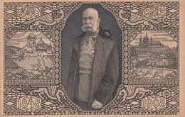 "449  AUSTRIA - Cartolina Postale  "" Giubileo Di Francesco Giuseppe Imperatore D'Austria ""  NUOVA Del 1908 - Prater"