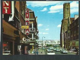 Pas De Calais. Calais , Le Cinéma Rue Royale Vers La Place D'arme - Calais