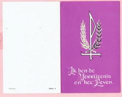 Bidprentje - Maria Leonia CAERS Echtg. Petrus BLOCKX - Geel 1903 - 1965 - Images Religieuses