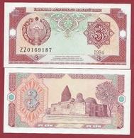 Ouzbékistan 3 Sum 1994  (UNC-NEUF) --(59) - Ouzbékistan