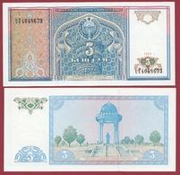 Ouzbékistan 5 Sum 1994  (UNC-NEUF) --(60) - Ouzbékistan