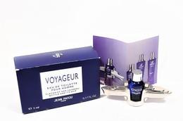 Miniatures De Parfum  VOYAGEUR De JEAN PATOU  5 Ml  EDT +  Bateau Métal + Boite - Miniatures Femmes (avec Boite)
