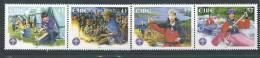 Irlande 2002 N°1427/1430 Neufs **  Scouts - 1949-... République D'Irlande