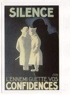 """Illustrateur  Paul COLIN-- Affiche De Paul Colin """"L'ennemi Guette Vos Confidences"""" - Autres Illustrateurs"""