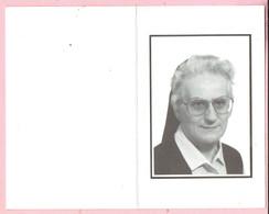 Bidprentje - Zuster IDA BRUYNINCKX Directrice Home De Merode Kasterlee -  Rillaar 1936 - 1988 - Images Religieuses