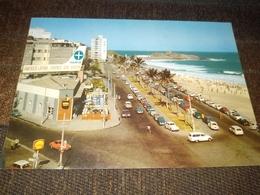 """Postcard """"Praia De Ipanema, Old Car"""" Brasil, Advertising, Shell, Varig - Rio De Janeiro"""