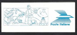 Italia 1989; Libretto:100° Istituzione Del Ministero Delle Poste E Telegrafi. - 6. 1946-.. Repubblica
