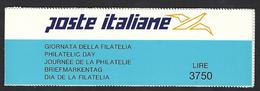 Italia 1992; Libretto : Giornata Della Filatelia ( Autoadesivo ) - 6. 1946-.. Repubblica