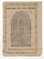 502 Santino Antico Madonna Immacolata Di Don Placido - Napoli - Religione & Esoterismo