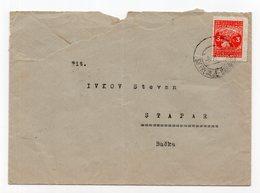 1949 YUGOSLAVIA, SLOVENIA, TPO 82 PREVALJE- MARIBOR, SENT TO STAPAR, BACKA, SERBIA - 1945-1992 Socialist Federal Republic Of Yugoslavia