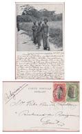 Etat Independant Du Belgisch Congo Belge  5 10 Cinq Dix Centimes Cachet Obliteration MATADI - 1894-1923 Mols: Lettres