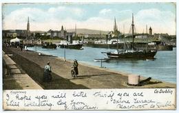 IRELAND : CO. DUBLIN - KINGSTOWN / POSTMARK - BLACKROCK / ADDRESS - PUTNEY, CEDAR GARDENS - Dublin