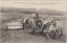 CPA   TRACTEUR  GRIGNON MOGUL - Tractors
