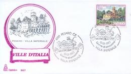 Italia 1983 FDC CAPITOLIUM Ville D'Italia Pesaro Villa Imperiale - Monumenti