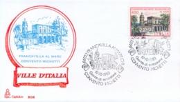 Italia 1983 FDC CAPITOLIUM Ville D'Italia Francavilla Al Mare Convento Michetti - Monumenti