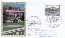 Italia 1984 FDC FILAGRANO Ville D'Italia Genova Villa Doria Pamphili - Monumenti