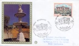 Italia 1984 FDC FILAGRANO Ville D'Italia Stignano Villa Caristo - Monumenti