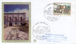 Italia 1984 FDC FILAGRANO Ville D'Italia Lecce Villa Mellone - Monumenti