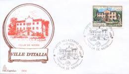 Italia 1985 FDC CAPITOLIUM Ville D'Italia Villazzano Villa De Mersi - Monumenti