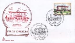 Italia 1986 FDC CAPITOLIUM Ville D'Italia Poggio A Caiano Villa Medicea - Monumenti