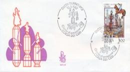 Italia 1983 FDC VENETIA Folclore Italiano Gubbio La Corsa Dei Ceri - Culture
